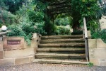 Reception stairs - Capers Guest House Wollombi